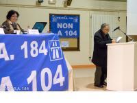 Le Président du Comité d'Andrésy remercie la Présidente et l'ensemble du CO.P.R.A. 184