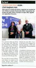 La Gazette en Yvelines du 21 octobre 2015 suite à Conférence de presse COPRA 184 du 15 octobre